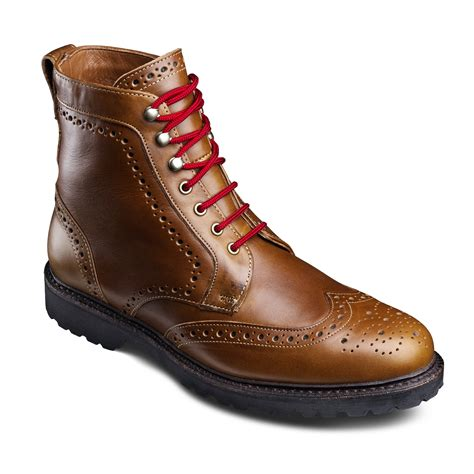mens dressy boots branch wingtip lace up oxford s dress boots by
