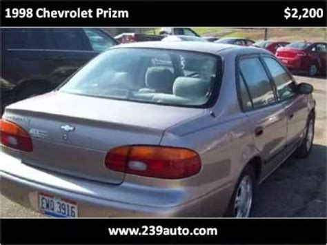 1998 chevrolet prizm problems online manuals and repair information