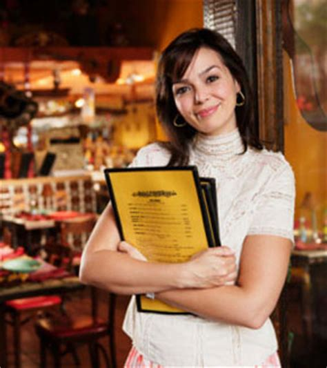 restaurant business host and hostess description