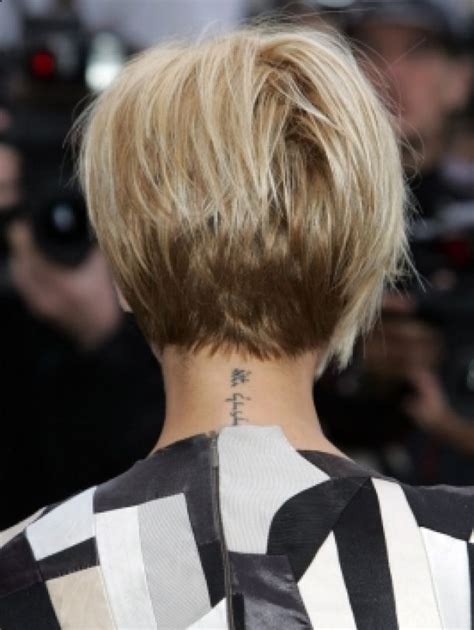 short white hair cuts rear view back views of short haircuts for women short hair styles