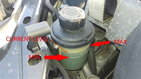 check add volvo power steering fluid
