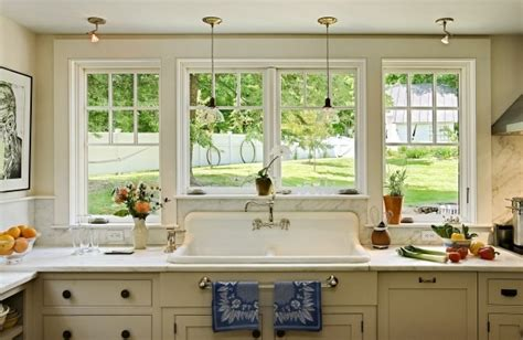 light over kitchen sink window corner plans breakfast nook restored farmhouse houzz home bunch interior design ideas