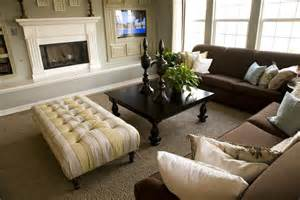 Brown Sofas In Living Rooms 47 Beautifully Decorated Living Room Designs