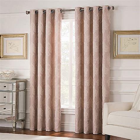 curtain grommet spacing buy valeron belvedere 63 inch grommet top room darkening