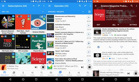 podcast app for android 10 best podcast apps for android in 2017 phandroid