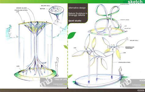 design environment nature sketch bagir portfolio
