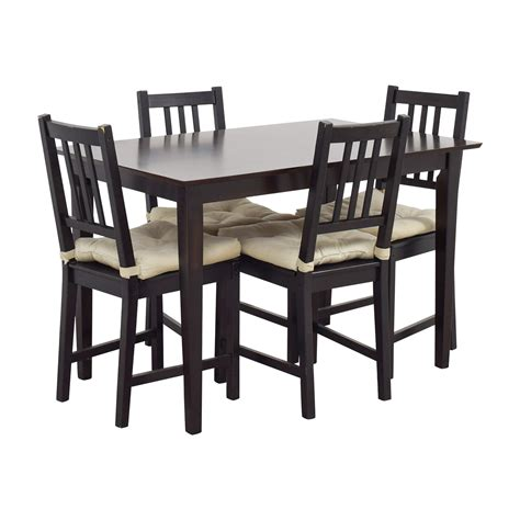 Ikea Wooden Dining Table 63 Ikea Ikea Brown Wood Dining Set Tables