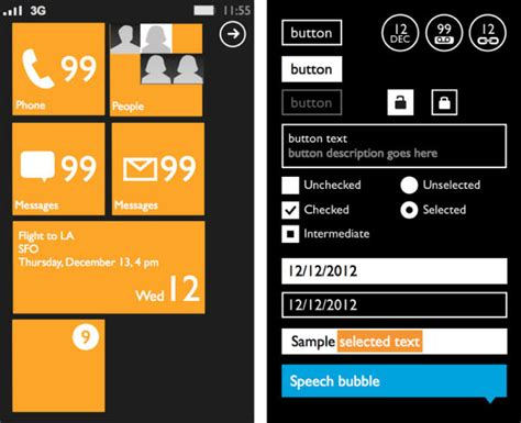 free mobile devices prototyping templates best of hongkiat