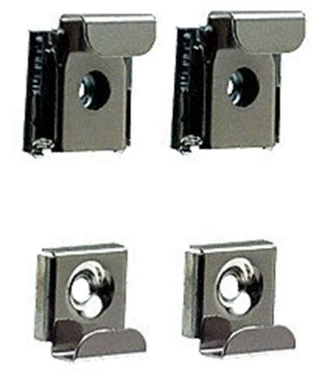 bathroom mirror clips crl polished chrome plastic lined mirror mounting clips 4