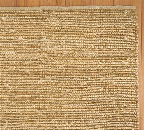 heathered chenille jute rug pottery barn au