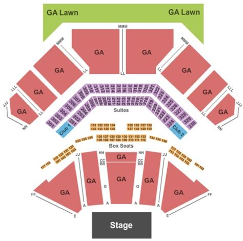 tweeter center seating chart casino hitheatre tickets seating charts and