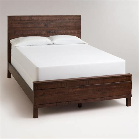 world market bed jacob queen bed world market