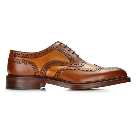 oxford shoes or brogues loake mens brown oxford brogues lace up leather formal