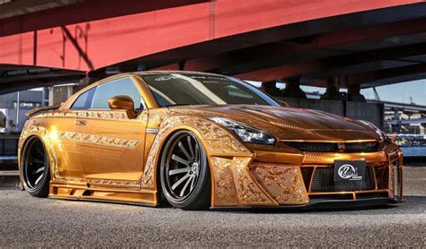 nissan gold gold engraved nissan gt r costs over 1 million