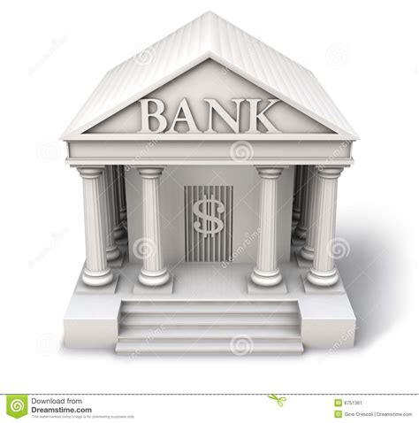 bank de het pictogram de bank stock illustratie afbeelding