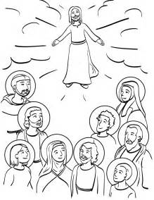 Saints Coloring Pages To Print all saints day coloring pages az coloring pages