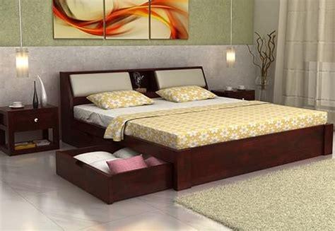bed online buy double beds online upto 60 off india wooden street