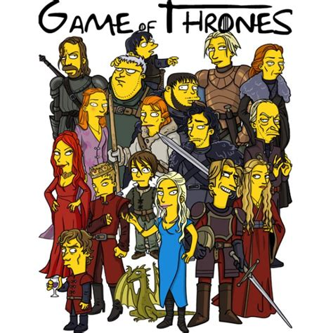 Simpsons Of Thrones by Clockwork Orange Pictures Posters News And On
