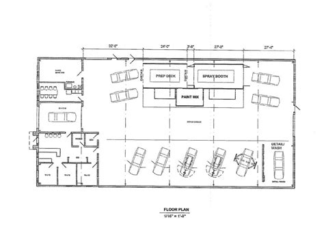 auto shop floor plans autoepair shop floor plans house plan automotive unique