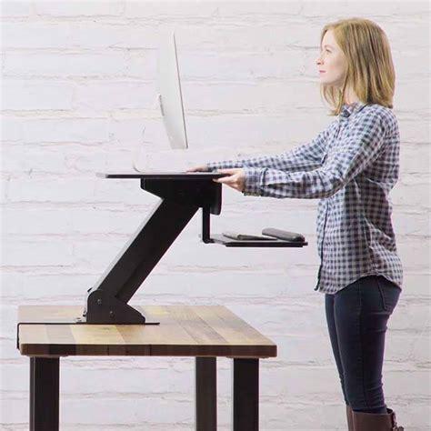 diy adjustable standing desk converter uplift adjustable standing desk converter gadgetsin
