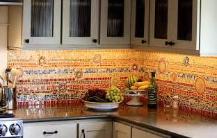 Mosaic Tile Backsplash Kitchen Ideas by Eye Candy 6 Incredible Mosaic Kitchen Backsplashes Curbly