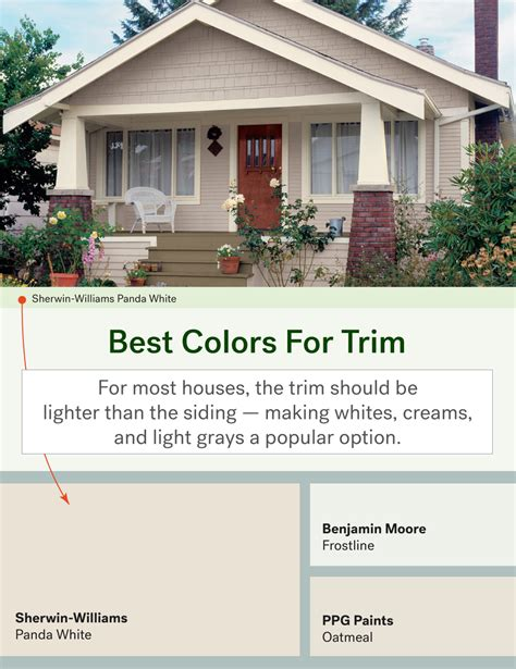 best exterior trim colors the most popular exterior paint colors huffpost