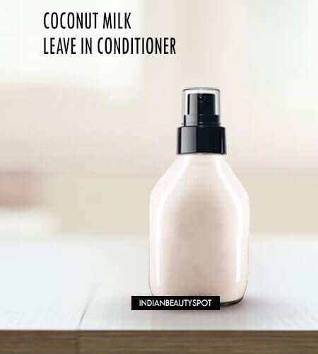 diy setting spray coconut coconut milk leave in spray on conditioner