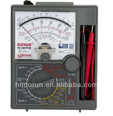 Multimeter Digital Sunwa high quality sunwa brand yx 360trd analog multimeter buy