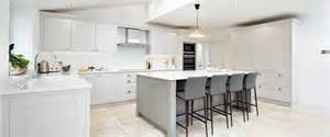 contemporary shaker kitchen bespoke handmade wood