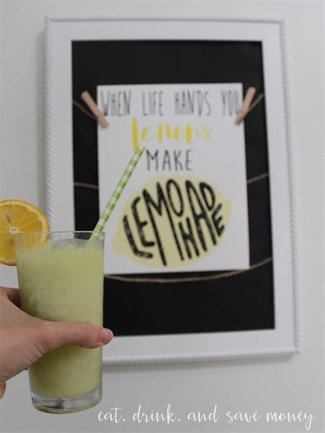 printable lemonade recipes boozy lemonade recipe eat drink and save money