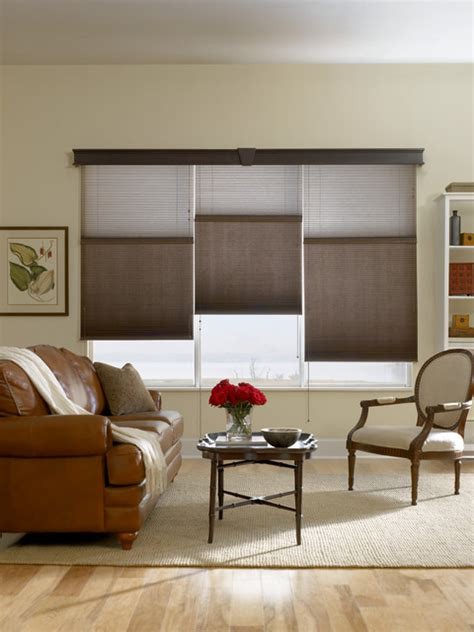 Houzz Living Room Shades Bali Cellular Shades Traditional Living Room Other