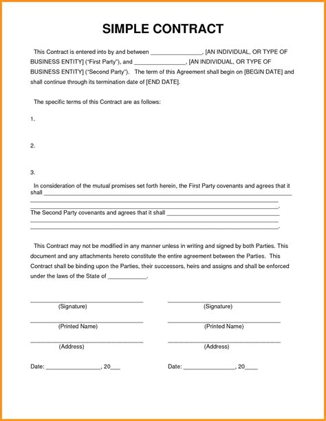 it contractor contract template template contractor contract template