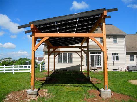 solar pergola traditional patio philadelphia by