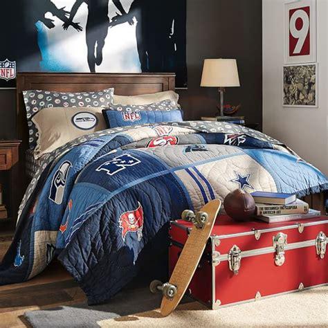 nfl comforters nfl 174 quilt sham pbteen