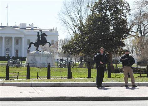 white house shooting secret service man shoots himself outside white house the blade