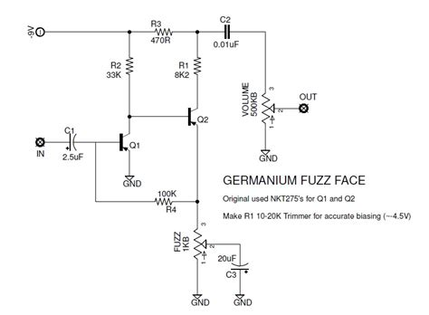 germanium transistor bias the faces of fuzz a brief history of the fuzz