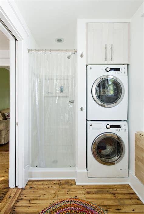 stacked washer  dryer design ideas