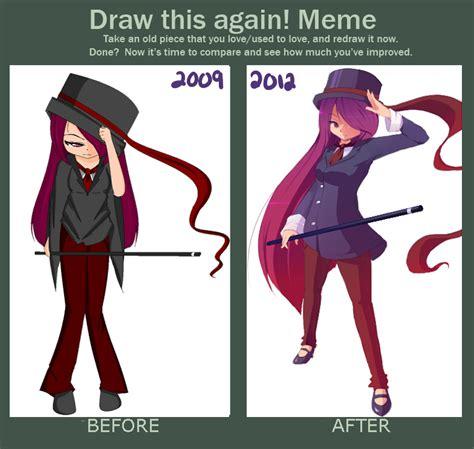 Draw This Again Meme Blank - draw this again meme 3 years by mishi la on deviantart