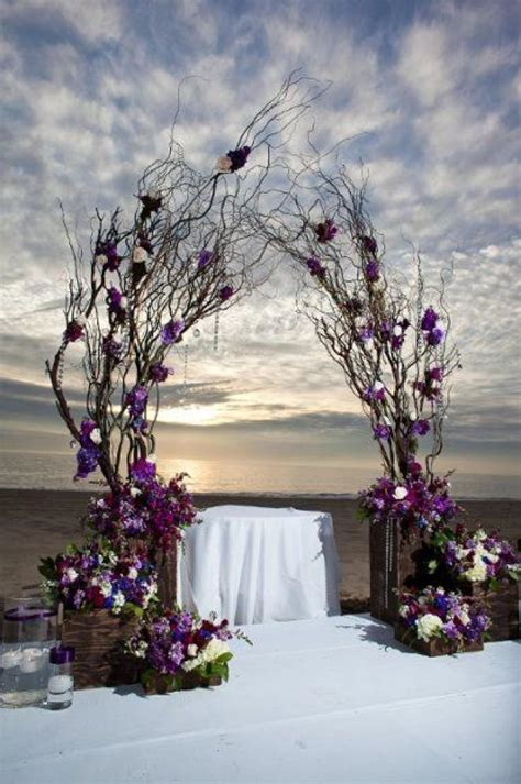 Wedding Arch Branches by Unique Alternative Ideas For Decorating The Altar For A