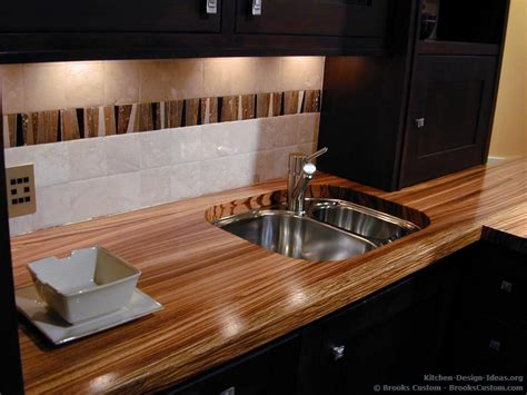 Real Wood Countertops by Custom Portfolio Of Kitchens Countertops