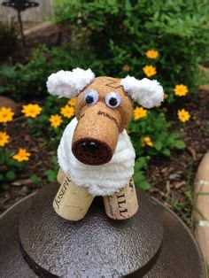 how to make a dog cork ornament 1000 images about wine cork wreaths and crafts on wine corks wine cork letters and