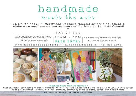 Handcrafted Marketplace - handmade meets the arts market day brisbane