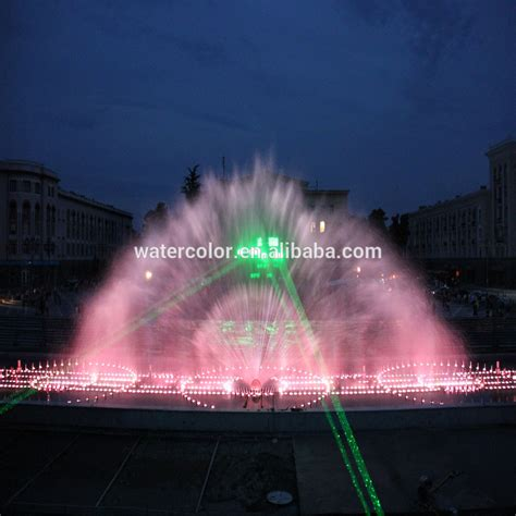 Nozzle Water Screen stainless steel decoration water screen projection and