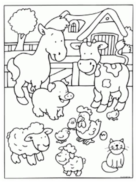 farm animals coloring pages preschool farm coloring page crafts and worksheets for preschool