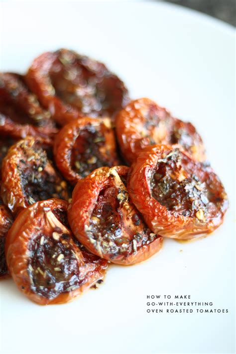 roasted tomatoes recipe slow roasted tomatoes recipe dishmaps