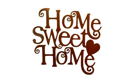 sweet home   clip art   transparent