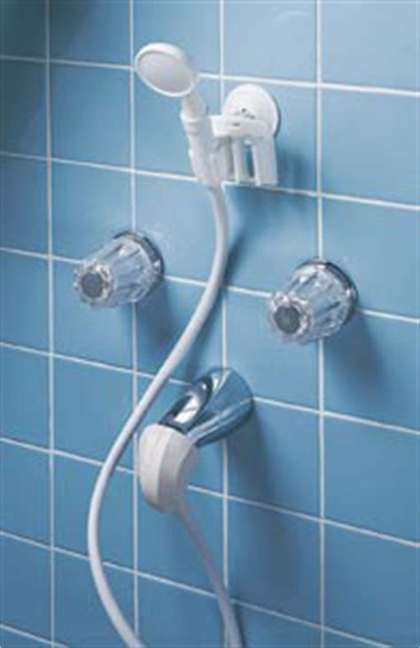 Held Shower Attachment For Tub Faucet by Held Portable Shower Converts Tub Spout To A Shower