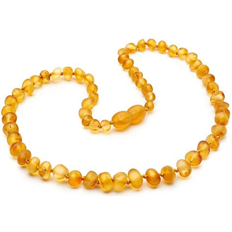honey teething necklace amberforbabies