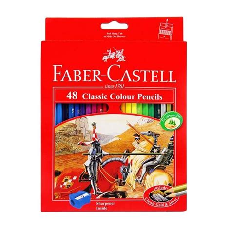 Miniatur Pensil Warna Faber Castell faber castell pensil warna 48 warna elevenia