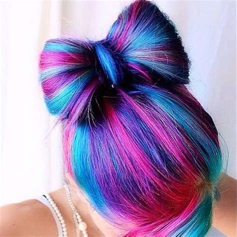 cool colors to dye hair 25 best ideas about blue and pink hair on
